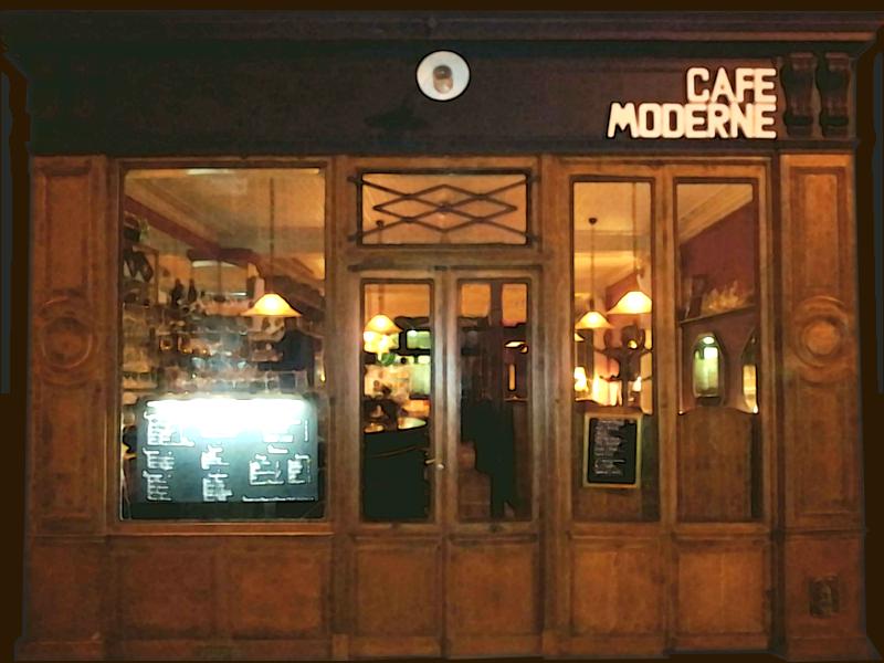Moderne Le café moderne